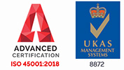 ISO 45001 Accredited