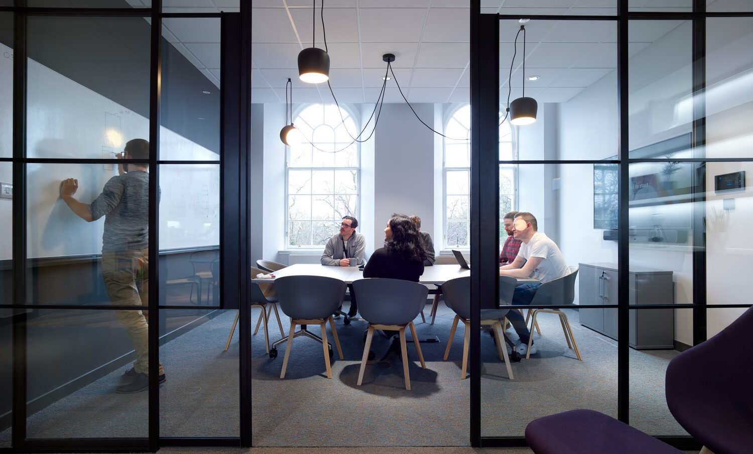 Hybrid working and maintaining company culture