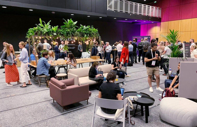 The Bureau Lounge at Turing Fest 2019
