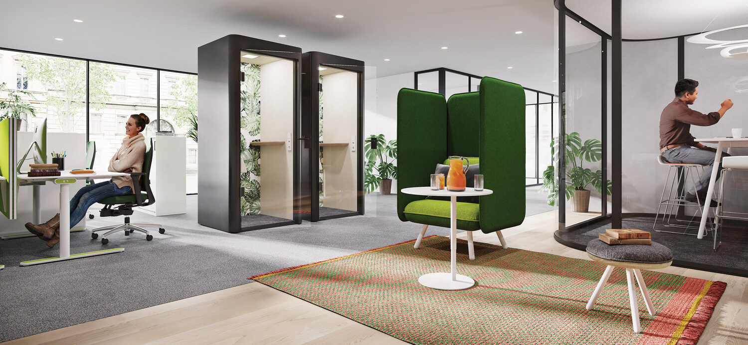 Finding the right meeting pod for your workspace